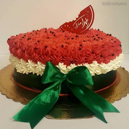 جدیدترین مدل کیک شب یلدا