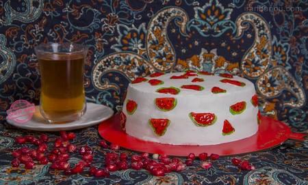عکس کیک شب یلدا جدید
