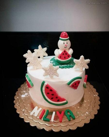 کیک شب یلدا جدید