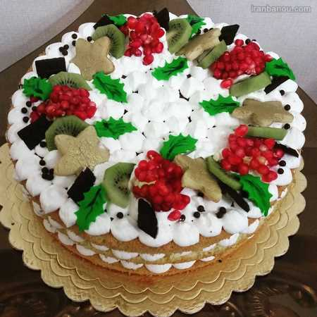 کیک یلدا لاکچری