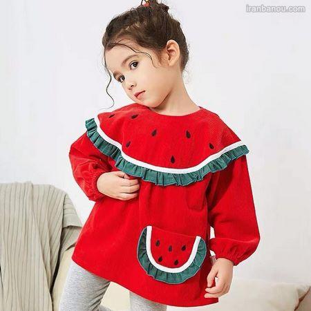 لباس بافت شب یلدا دخترانه