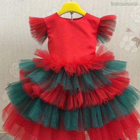 مدل لباس بافتنی دخترانه برای شب یلدا