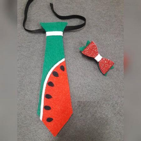 اندازه کراوات نمدی