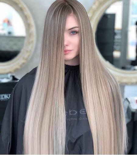 رنگ مو ترکیبی