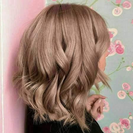 ترکیب رنگ مو بدون دکلره برای موهای سفید