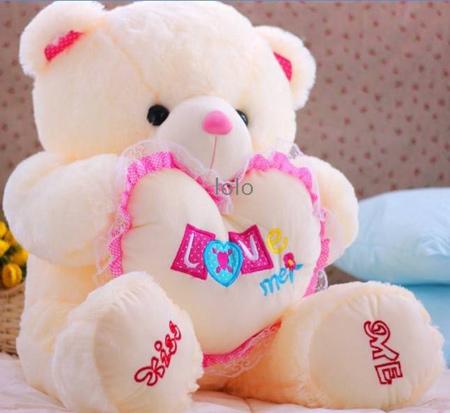 خرس قرمز ولنتاین, خرس و قلب قرمز ولنتاین
