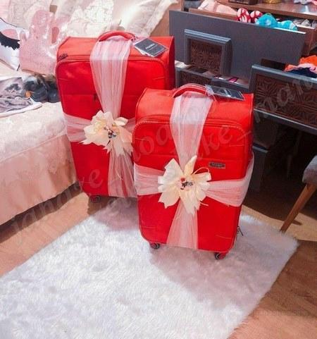 انواع تزیین چمدان عروس و داماد