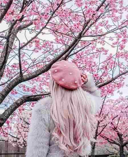 عکس هنری دختر از پشت