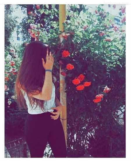 عکس دختر از پشت سر جدید