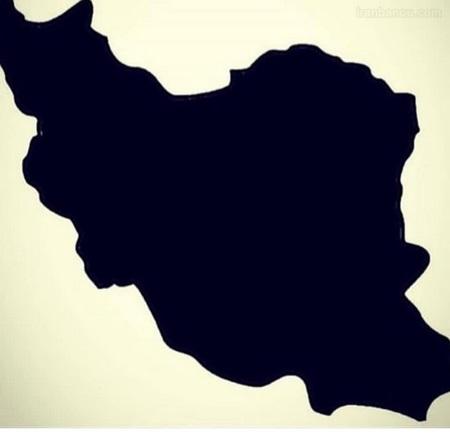 عکس نوشته غمگین تسلیت برای ایران