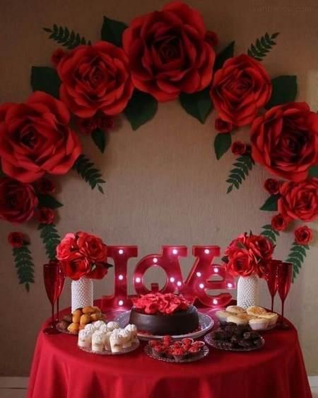 میز ولنتاین شیک