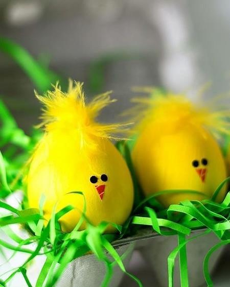 آموزش نقاشی روی تخمه مرغ