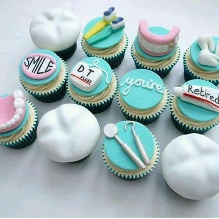 کیک فارغ التحصیلی دندانپزشکی