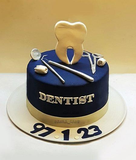 عکس کیک دندانپزشکی