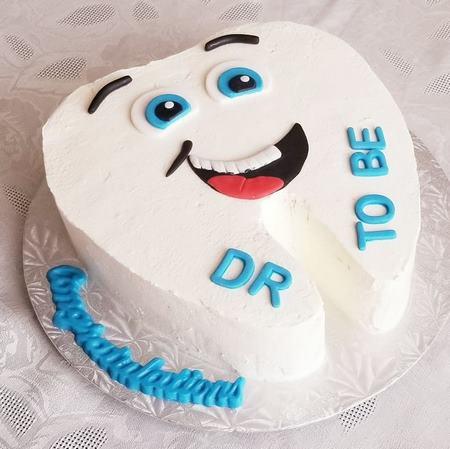 مدل کیک دندانپزشک
