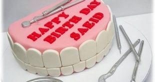 مدل کیک روز دندانپزشک