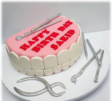 کیک قبولی دندانپزشکی
