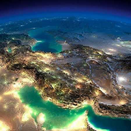 عکس خلیج فارس شیراز