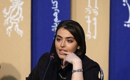 ریحانه پارسا در اکران فیلم خوب بد جلف جشنواره فجر