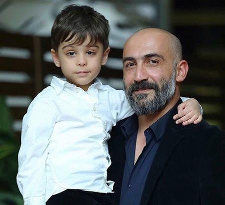 هادی حجازی فر و پسرش