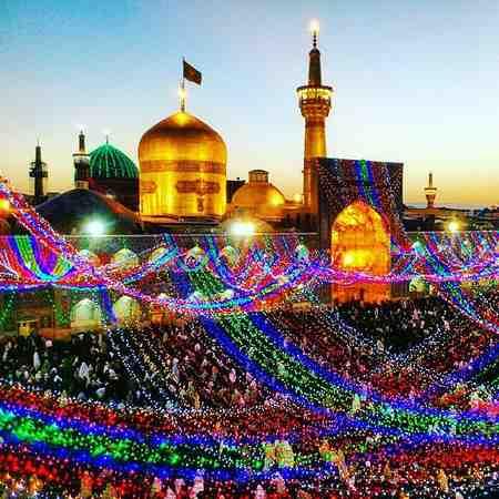 عکس حرم امام رضا پروفایلی