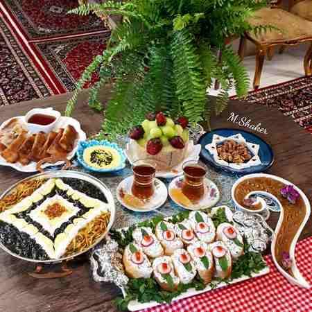 دیزاین افطاری