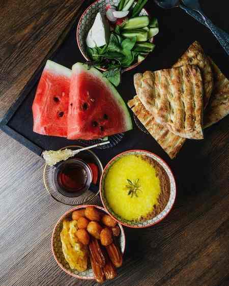 تزیین افطاری عکس