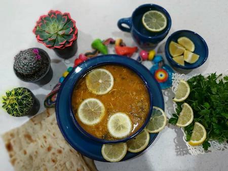 تزیین سوپ ورمیشل