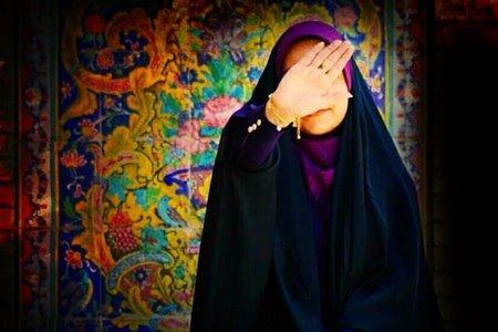 عکس دختر مذهبی با چادر