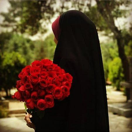 عکس دختر چادری برای پروفایل
