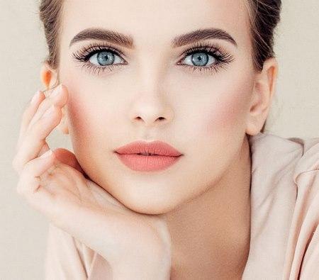 مدل میکاپ صورت لایت دخترانه