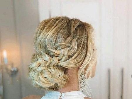 مدل موی نامزدی با گل