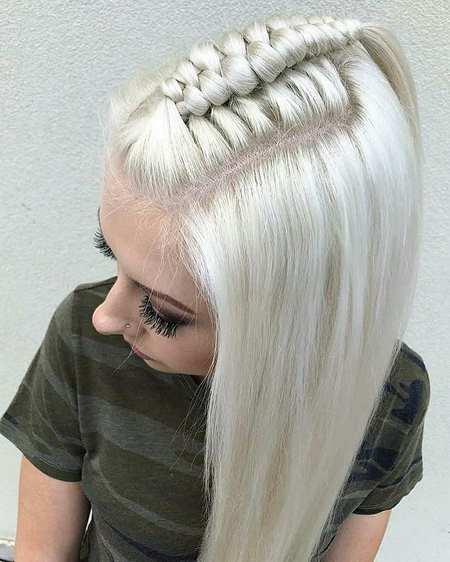بافت مو دخترانه مجلسی