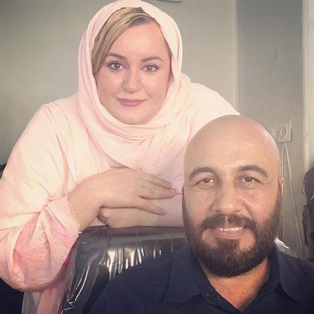 نعیمه نظام دوست و رضا عطاران