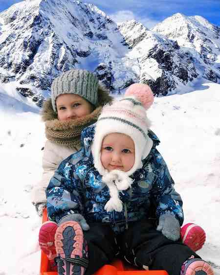 عکس بچه های بانمک