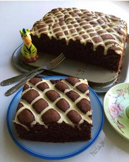 تزیین کیک خانگی آسان