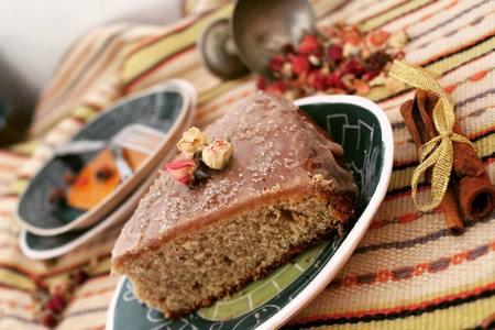 تزیین کیک خانگی با شکلات