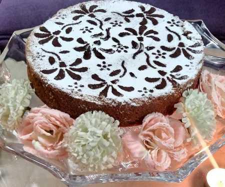 تزیین کیک خانگی با ژله