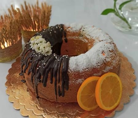 تزیین کیک با اسمارتیز و ترافل