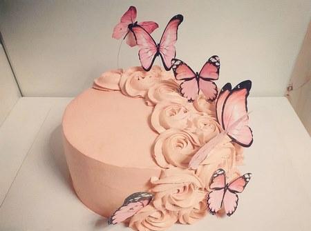 کیک تولد دخترانه عروسکی