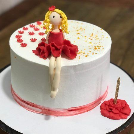 کیک تولد دخترانه بزرگسال جدید
