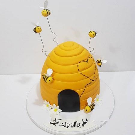 کیک تولد بچه گانه دخترانه
