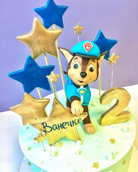 کیک تولد پسرانه بدون فوندانت