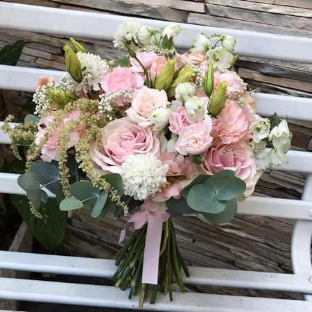 دسته گل عروس ایرانی