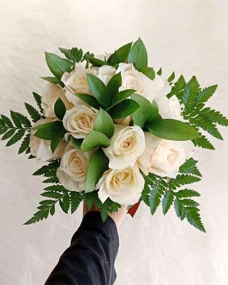 دسته گل عروس مصنوعی جدید