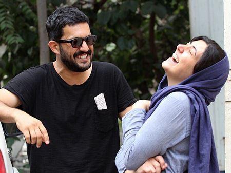 دوستی حامد بهداد و باران کوثری