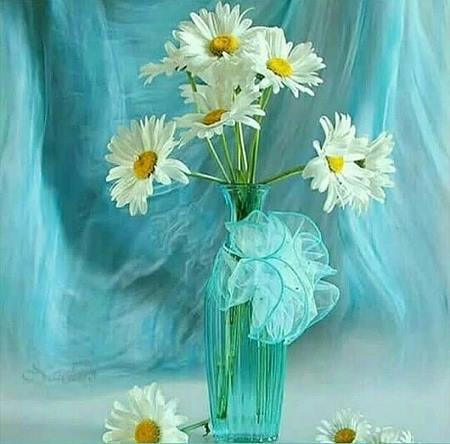 گل طبیعی زیبا برای خانه