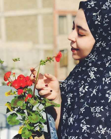 عکس گل نوشته دار عاشقانه