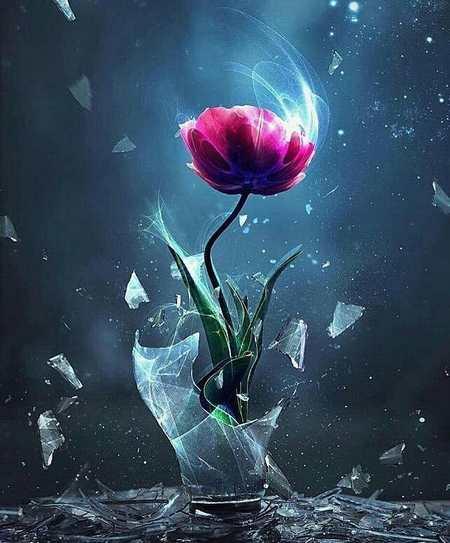 دسته گل طبیعی زیبا
