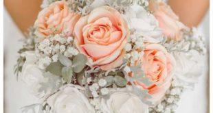 دسته گل لمسي عروس